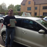Angus Moir from Milborne Port passed his test first time and then completed a succesful Pass  Plus course in Bristol.